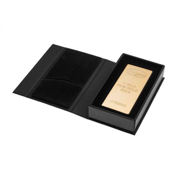 Lingotto Oro 1 kg - box chiusa - Italpreziosi