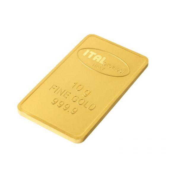 Lingotto oro 10 grammi - Italpreziosi