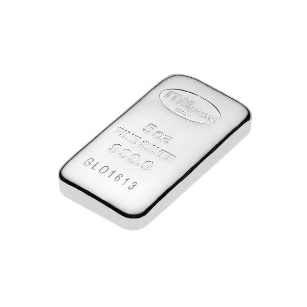 Pure Silver Bar 5 oz - Italpreziosi